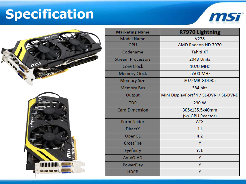 7970 specification